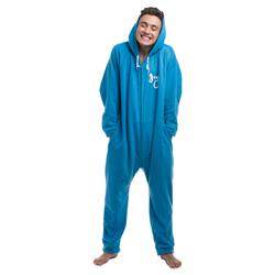 Logo Light Blue Onesie