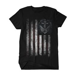 Anchor Flag Black T-Shirt *Final Print!*
