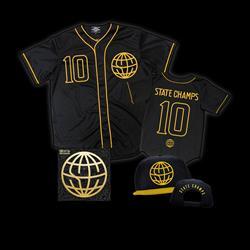 State Champs - CD/Baseball Jersey/Hat Bundle