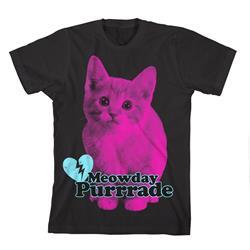 Meowday Purrrade Black