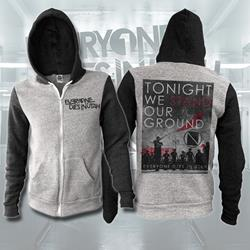 Tonight We Stand Black/Grey Zip-Up