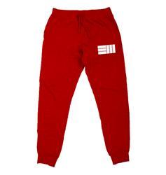 EM Logo Red Jogger
