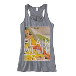 Beach Heather Grey Girl's Racerback Tank