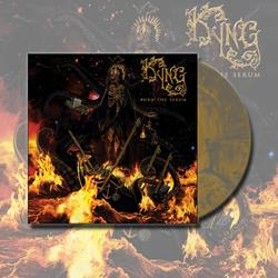 Burn The Serum Gold/Smoke LP
