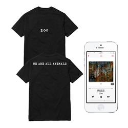 We Are All Animals Black T-Shirt + Digital Album