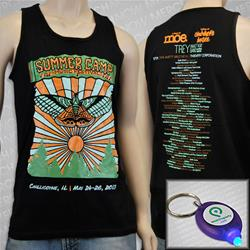 Summer Camp Wear The Party Black Tank Top
