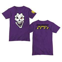 Death Pop Skull Purple