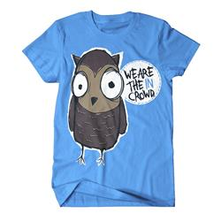 We Are The In Crowd - Owl Teal Sale!