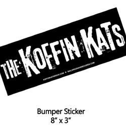 Logo Black Bumper Sticker