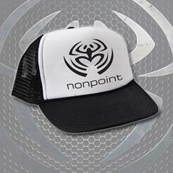 NonPoint The Return Black/White Trucker Hat