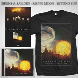 Rising Moon: Setting Sun CD + T-Shirt + Poster + Digital Download