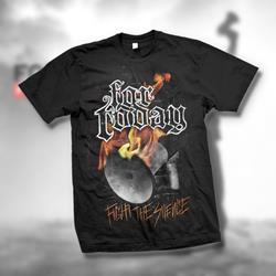 Megaphone Black T-Shirt