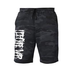 Logo Black Camo Shorts