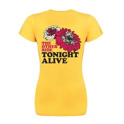 Flowers Yellow Girl's Shirt