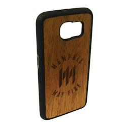 Logo Samsung Galaxy 6 Wood Case