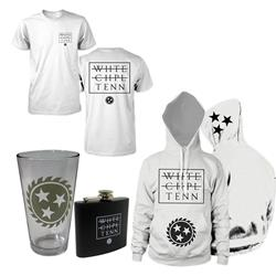 Strike Through Tee/Pullover & Pint/Flask