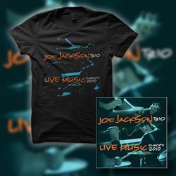 Joe Jackson - Live Music CD & T-Shirt
