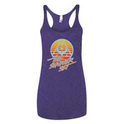 Logo Purple Girl's Tank Top