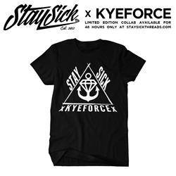 StaySick x KyeForce Collab Black
