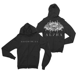Alpha Black Zip-Up *Final Print!*