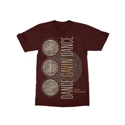 Globe Maroon T-Shirt