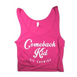 Die Knowing Pink Crop Top
