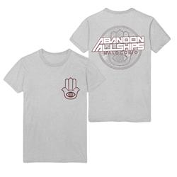 Hand Symbol Heather Grey T-Shirt
