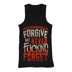 Forgive Black Tank Top *Clearance*