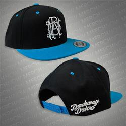 MONOGRAM Black/Blue Snapback