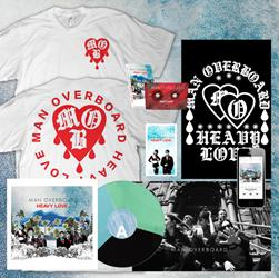 Man Overboard - LP SHIRT & EXTRAS BUNDLE - DRIP