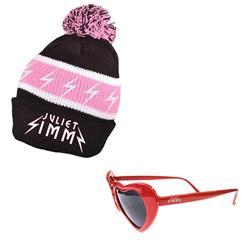 Pom Beanie/Sunglasses