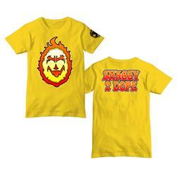 Shaggy Flame Yellow