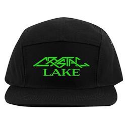 Tech Logo Black Camper Hat