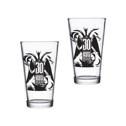 (2) 30th Anniversary Pin Glasses
