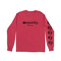 Wiped Away Red Long Sleeve