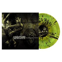 The Infringement of God's Plan Swamp Green/Highlighter Yellow with Heavy Black Splatter