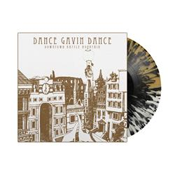 Downtown Battle Mountain  Half Clear/Half Gold withBlack Splatter