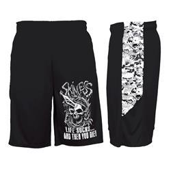 Life Sucks Digital Camo Black/White Shorts