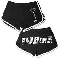 Logo Black Track Shorts