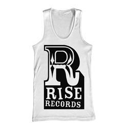 Big R Logo White Tank Top