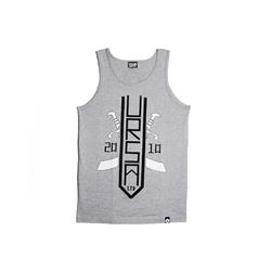 Tribute Grey Tank Top