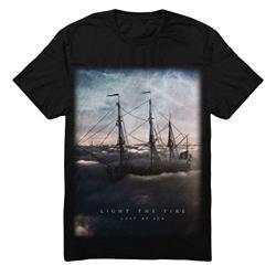 Lost At Sea Black T-Shirt