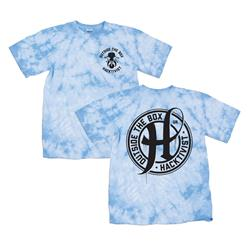 Outside The Box Blue/White Tie-Dye