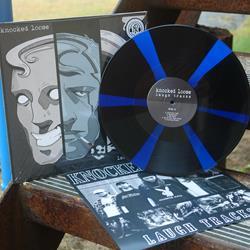 Laugh Tracks Royal Blue & Black Pinwheel