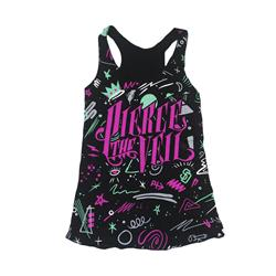 Symbols Black Girl's Tank Top