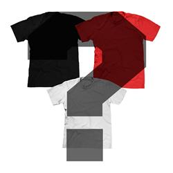 Three MYSTERY Tees For