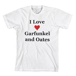 I Love Garfunkel & Oates White