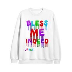 Bless Me Indeed White Crewneck