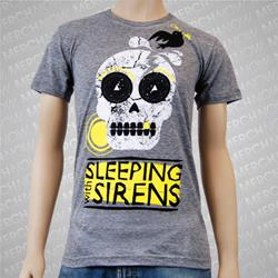 Skull Heather Gray