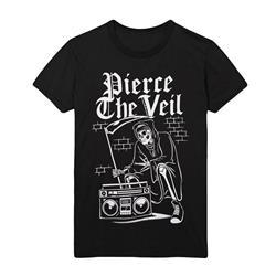 Reaper Boombox Black T-Shirt